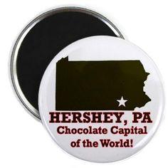 pin Hershey Pennsylvania, Hershey Chocolate