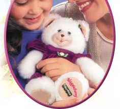 The Briarberry Collection(tm) from Fisher-Price® - Made to be played with, meant to be cherished. Love that tagline. The bears lived up to it by being machine washable! Clothes were easy on and off - wide armholes and simple velcro closures, so the littlest kids can dress and undress them.