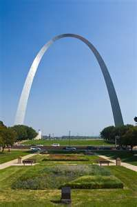 St Louis Arch - couldnt wait to get back down, it swayed at the top ! ! ! !