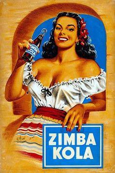 Ilustración de Rudy García en favor de la recordada marca.