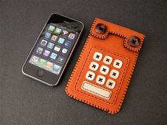 How adorable is this retro looking Felt Case for the iPhone? Or what about this camera shaped felt pouch for digital cameras? Whee! (thank you Billy)