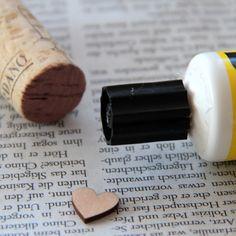 Stempel basteln DIY - make stamps DIY