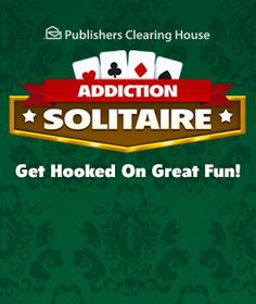 Play Addiction Solitaire online for free at PCHgames Pyramid Solitaire, Spider Solitaire, Solitaire Games, Winner Announcement, Publisher Clearing House, Online Sweepstakes, Win Money, Minute To Win It, Pyramids Of Giza