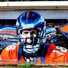 Concrete Canvas: Street-Artist Gamma Gallery Seeks Wall for Denver #Broncos Mural