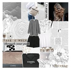 """""""it's all just a blur. ☆"""" by i-get-lost-sometimes ❤ liked on Polyvore featuring NARS Cosmetics, Chanel, Frette, Samsung, MANGO, Monki and nvnbg"""