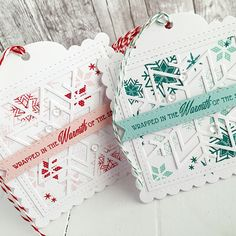 Picture of Wrapped In the Warmth tag set