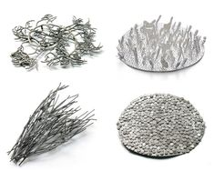 Marian Hosking -  theme of Organic Modularity is quite obvious in some of these brooches