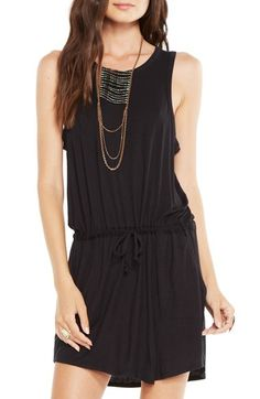 Chaser Drape Back Stretch Jersey Dress available at #Nordstrom