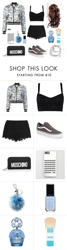 """""""Outfit Casual  - by Scarleth ♥"""" by success-stories-believe on Polyvore featuring moda, Moschino, Dolce&Gabbana, Tart, Vans, Michael Kors, Marc Jacobs y Maybelline"""