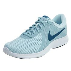 063dfb988b41a Women s Nike Revolution 4 Running Shoe Ocean Bliss Blue Force Glacier Blue  Size M US   Check out the image by visiting the link.