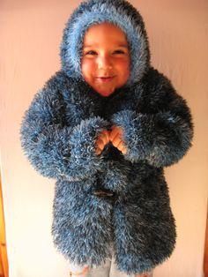 blueblackgircillichildren's coat children by specialhandmades4you, $75.00