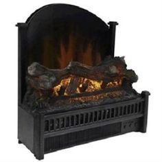 "World Marketing ELCG347 Electric Fireplace Insert $175  Product Type: Electric Fireplace Insert Product Dimensions: L: 12.63"" x W: 23.00"" x H: 21.15"""