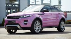 Pink Range Rover Evoque To Celebrate Car's Success | Motor Junkies