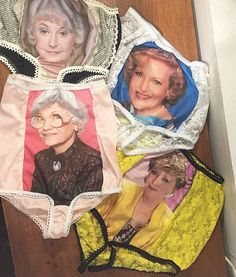The ultimate granny panties: Yep, there's a 4 pack of 'Golden Girls' underwear | Dangerous Minds