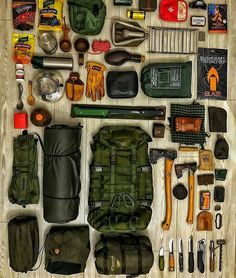 Bug Out Bag List – Thomas Oberwolfach – bushcraft camping Bushcraft Camping, Bushcraft Gear, Camping Survival, Outdoor Survival, Camping Gear, Outdoor Camping, Bushcraft Backpack, Camping Outdoors, Backpacking