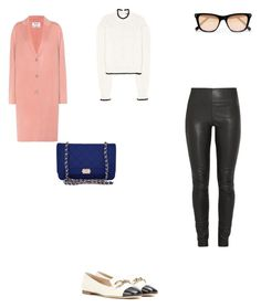 """""""Untitled #3100"""" by anamaria-zgimbau ❤ liked on Polyvore featuring Elizabeth and James, Acne Studios, McQ by Alexander McQueen, By Malene Birger, Tod's and Chanel"""
