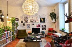 ミラノのおしゃれで可愛い一人暮らし1LDKレイアウト部屋|アドルームズ