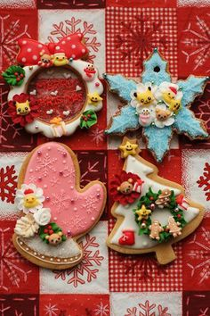 Possibly the prettiest Christmas cookies ever!