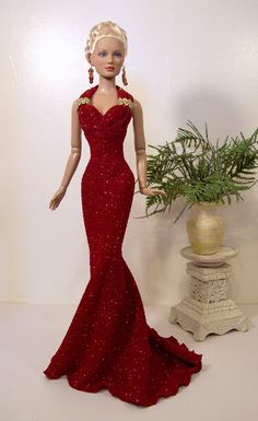 barbie gown is beautiful