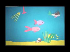 Under the Sea - Stop Motion #2 with construction paper - YouTube