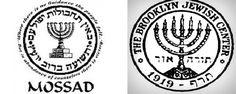 aatrumpmossad/Logo of the MOSSAD & the Brooklyn Jewish Center