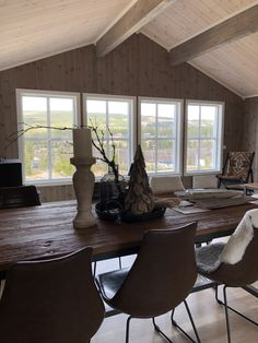 Cabin Interiors, Dining Table, House, Inspiration, Furniture, Home Decor, Profile, Posts, Website
