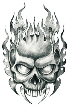 Evil Tattoos Horned Devil Man with Hand On Chin — Hand Tattoos Design Evil Skull Tattoo, Evil Tattoos, Skull Tattoo Design, Tattoo Design Drawings, Skull Design, Skull Tattoos, Hand Tattoos, Skull Hand Tattoo, Cool Skull Drawings