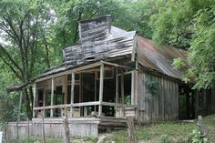 passed through the old ghost town of Rush while exploring Buffalo Point National Park in Arkansas. -