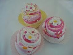 Baby Stuff Cupcakes