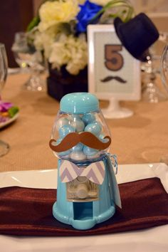 Mustache Style 1st Birthday Party