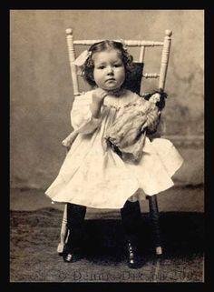 Grandma As A Young Girl by Dennis Dixson, via Flickr