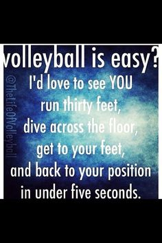 Sport Quotes For Girls Sisters 24 Ideas - + Sport + - Volleyball Volleyball Training, Sport Volleyball, Funny Volleyball Shirts, Volleyball Workouts, Coaching Volleyball, Volleyball Players, Volleyball Ideas, Volleyball Sayings, Volleyball Setter