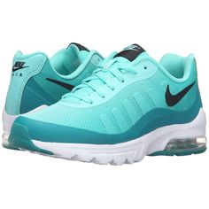 Nike Air Max Invigor Print (Hyper Turquoise/Black/Rio Teal) Women's... ($90) ❤ liked on Polyvore featuring shoes, athletic shoes, laced shoes, lace up shoes, nike footwear, kohl shoes and teal green shoes