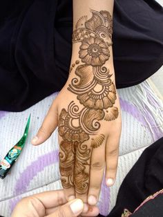 New arabian bridal henna mehndi designs Ideas Latest Arabic Mehndi Designs, Full Hand Mehndi Designs, Henna Art Designs, Mehndi Designs For Girls, Mehndi Designs 2018, Mehndi Designs For Beginners, Stylish Mehndi Designs, Dulhan Mehndi Designs, Mehndi Design Photos