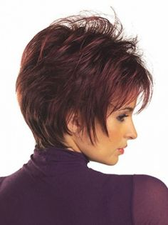 Great Red Synthetic Short Wigs, Short Cut Wigs, Cheap Short Wigs