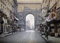 Vous allez en prendre plein les yeux ! Voici Paris il y a 100 ans... et en couleurs ! Superbe !