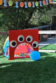 Monsters Birthday Party Ideas | Photo 3 of 28 | Catch My Party