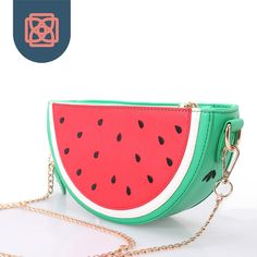Cheap wallet new, Buy Quality wallet with snap closure directly from China wallet magnifier Suppliers: Pop Up Woman Messenger Bags Designer Handbag Watermelon Clutch Chain Shoulder Bag Purse Wallet with Keychain Gold Chain Purse Wallet, Coin Purse, Cute Spiral Notebooks, Watermelon Bag, All American Girl Dolls, White Backpack, Cute Bags, Chain Shoulder Bag, Toys For Girls