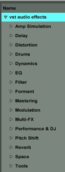 """Ableton 9 has a built-in secret """"Folder Architecture"""". Fiddling around with how things appear in the browser i discovered that if you make a folder with the same name as one of the built-in categor..."""