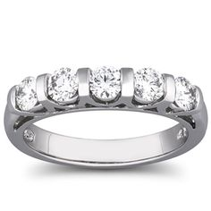 Diamond Anniversary Rings and Bands