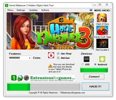 Home Makeover 3 Hidden Object Hack, add Coins -