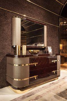 Diamond Bedroom www.turri.it Italian luxury sideboard