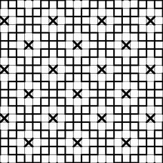 Fill-in Patterns for Blackwork Embroidery