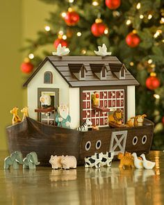 Bought this Ark Advent this past January as it was marked down after Christmas. It is a nice size for display and the quality is excellent. It is truly as cute as the photograph.