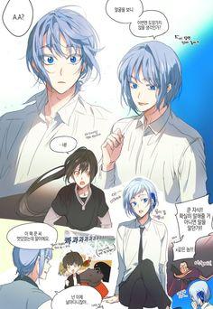이미지 Khun KUNTAKOO Anime Boys, Anime Manga, Anime Art, Webtoon Comics, Pose Reference, Aesthetic Art, Art Sketches, Manhwa, Cute Pictures