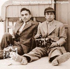 King Hussein of Jordan and King Faisal of Iraq