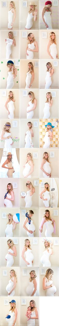 What a great way to show your pregnancy! for the very distant future of mine and for all my photography friends- great idea!