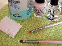 French manicure - Ranskis kynsilakalla, tutoriaali