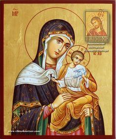 Konevskaya (Golubitskaya) icon of the Mother of God Religious Images, Religious Icons, Religious Art, Byzantine Art, Byzantine Icons, Bible Pictures, Orthodox Christianity, Mary And Jesus, Madonna And Child