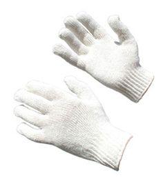 Mens 100% Cotton Knit Gloves Image